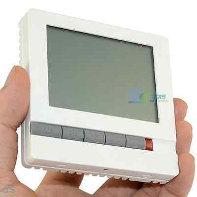 LCD 220V Central Air Conditioner Switch Room Temp Controller Thermostat Switch