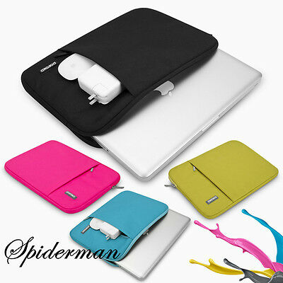 "Notebook Laptop Sleeve Case Carry Bag Cover For 11"" 13"" 12"" 15"" MacBook Air/Pro"