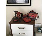 Hilti skill saw and drill for sale