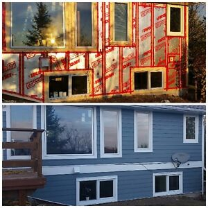 HARDIE PLANK SIDING INSTALLATION OF NEW HOMES, RENOVATIONS AND C Edmonton Edmonton Area image 2