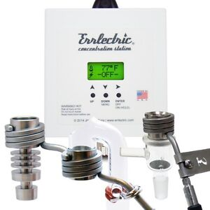 Errlectric® Concentration Station™: White Domeless Titanium Nail