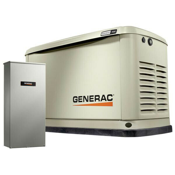 Generac 9/8 KW Air-Cooled Standby Generator, 16 Circuit LC NEMA4 70301 New