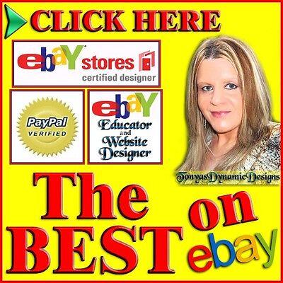 ULTIMATE 5 PAGE Custom eBay Store SLIDE SHOW Design (w eBay Listing Template)