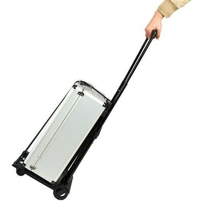 New Portable Cart Folding Dolly Collapsible Trolley Luggage Push Shopping