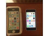 iPhone 5c open to all network mint and boxed
