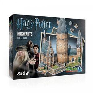 Harry Potter Hogwarts Great Hall 3D Jigsaw  Brand New