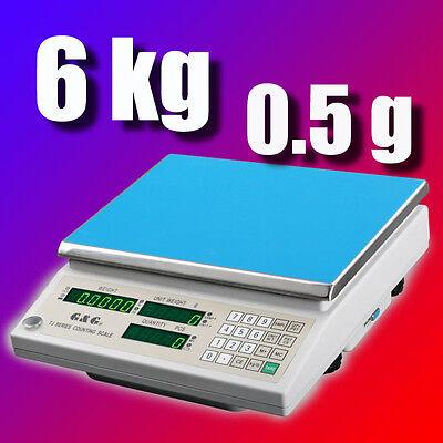 G&G TJ-A 6kg/0,5g Präzisionswaage Zählwaage Digital-waage