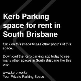 $15/day SOUTH BRISBANE parking. Book via the KERB app.
