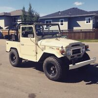 Toyota Land Cruiser Jeep BJ42 *priced to sell*