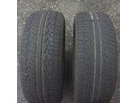 Tyres 255/55/19 s+m Range Rover