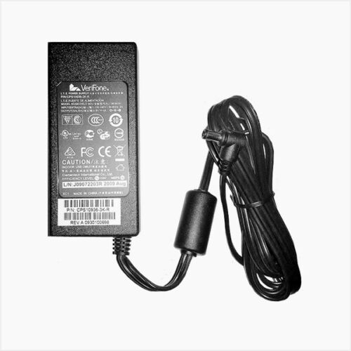 VERIFONE VX520 POWER SUPPLY - FITS VX520 ALL MODELS - 2 PART POWER CABLE