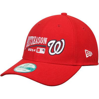 Washington Nationals Mlb Postseason Adjustable Hat Cap New Era 9Forty Playoffs