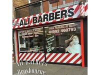 Full-time/Part-time Experienced barber required urgently