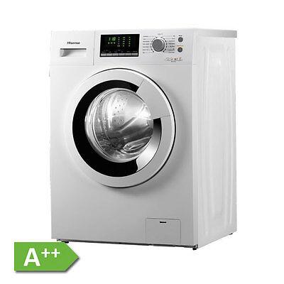 Hisense Waschmaschine WFU 6012WE Slim A++ Waschmaschine LED Display 15 Programme