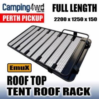 FULL LENGTH ROOF TOP TENT STEEL ROOF RACK GUTTER MOUNT