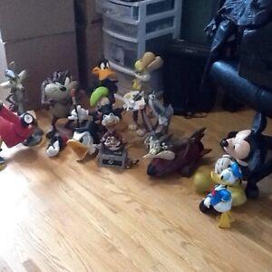 Figurine Walt Disney et looney toons