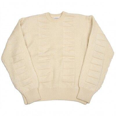 Yohji Yamamoto POUR HOMME Pattern knitting knit Size M(K-34867)