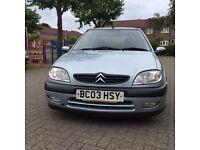 Citroen Saxo VTR 1.6 Petrol 2003 12 Months MOT