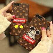 Supreme Mickey embroidery iP Case for iPhone 6 6s 7 8 plus XS Max Redcliffe Redcliffe Area Preview