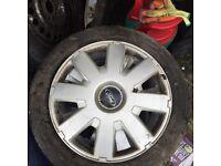 Ford Focus wheel trims x4