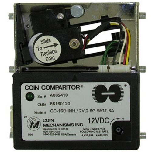 Coin Comparitor CC-16 12VDC Inhibit (66160120)