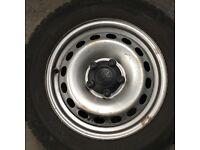 4x Vw steel wheels