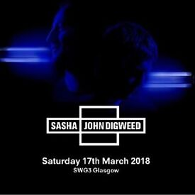 SASHA AND DIGWEED TICKETS FOR SALE