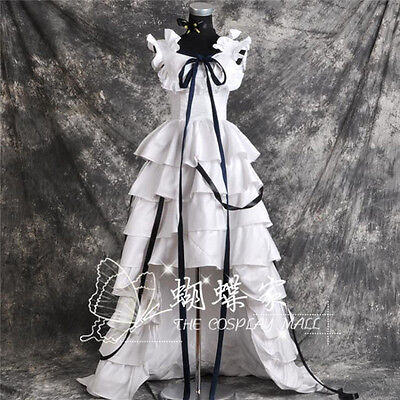 Hot Anime Chobits Chii Cosplay Costume White Dress Free Shipping (Chobits Chii Kostüme)