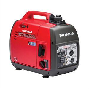 Honda Generator EU2000i Companion Cambridge Kitchener Area image 1