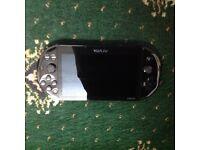 2016 psvita slim W/Minecraft,Fifa15,8gb memory card and a case*BOXED*mint condition ONO