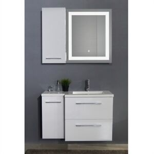 Wall cabinet and LED mirror !!!