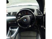 BMW 1-Series coupe white £4850