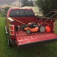 Yard work/ truck available