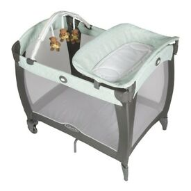 BARGAIN DISCOUNT CHEAP SALE - Graco Contour Electra Travel Cot originally purchased from Mothercare