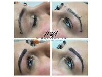 Semi permanent makeup (eyebrows/eyeliner)