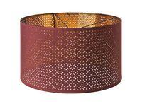 Ikea Nymo Dark Red 59cm diameter pendant lampshade.