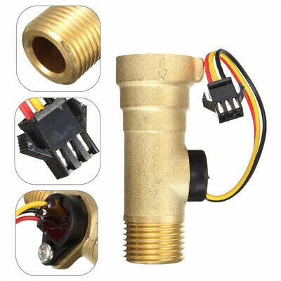 Light Weight 12 Thread Hall Effect Water Flow Sensor Switch Flowmeter Meter