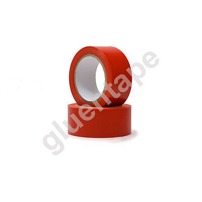 Vinyl Floor Safety Marking Tape 2 Inch X 36 Yards 5mil Pvc Red  1 Roll