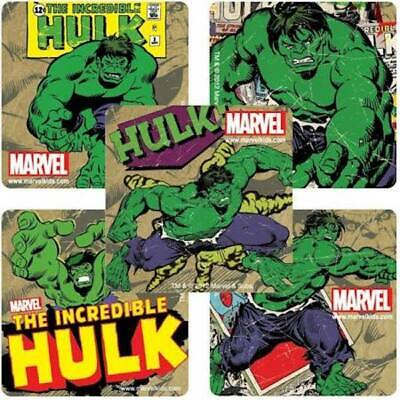 25 Marvel Hulk Comic  Stickers Party Favors Teacher Supply Super Hero - Hulk Party Favors