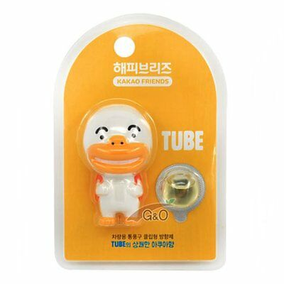 Kakao Talk Friends Ver.2 Cute Characters Car Vent Clip Air Freshener Tube