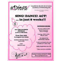 #DIVAS Academy of Performing Arts - SUMMER PROGRAM