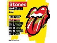 Rolling Stones x 2 standing old Trafford Manchester 5th June