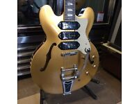 Epiphone Limited Edition Riviera P93 Goldtop UPGRADED