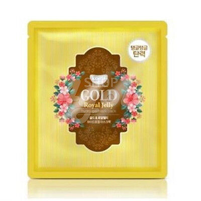 Koelf Gold   Royal Jelly Hydro Gel Mask Pack 30G 5 Sheets  Free Sample