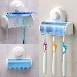 5 set nuevo soporte con ventosa para cepillo dientes for Ventosas para bano