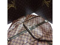 Rich Louis Vuitton Lv brown monogram damier 45 unisex bag genuine designer