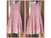 Bridesmaid Dress Pink Size 14