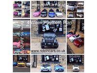 Open Today From 12 to 8 Large Selection Of Ride-On Cars In Store