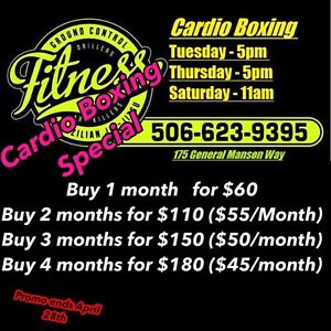 Ground Control Fitness- Cardio Boxing Special