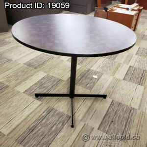 "54"" Light Mauve Round Bistro Table"